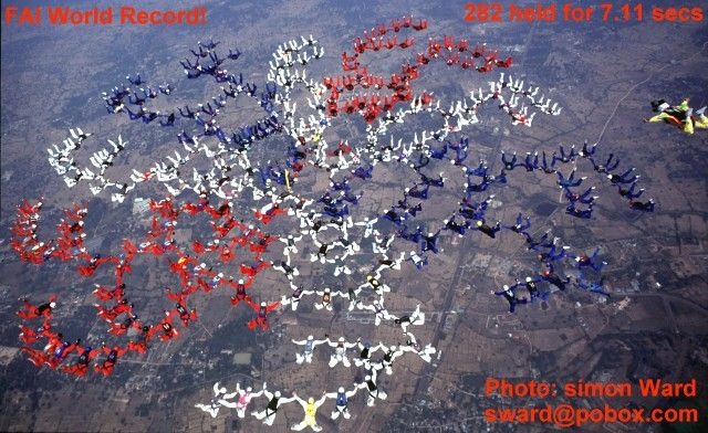 Photo gallery red bull skydiving team fs 4 way spanish champion gumiabroncs Choice Image